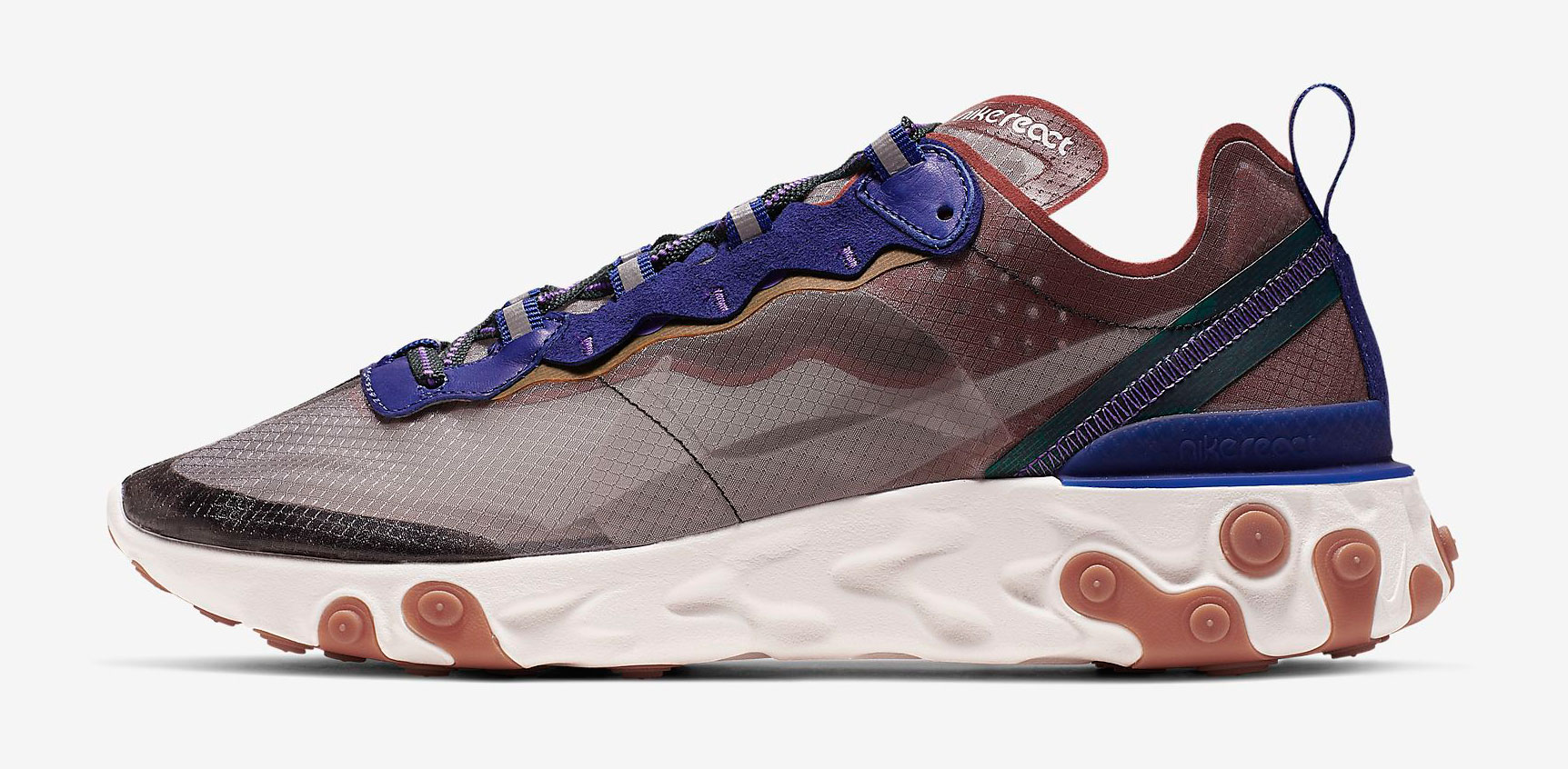new product 325a5 2ec26 nike-react-element-83-dusty-peach-deep-royal-. Release Date  May ...