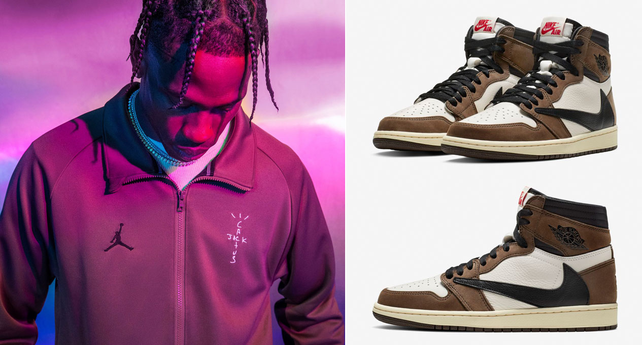 770595b0 Travis Scott Air Jordan 1 Shirts Hoodie Clothing | SneakerFits.com