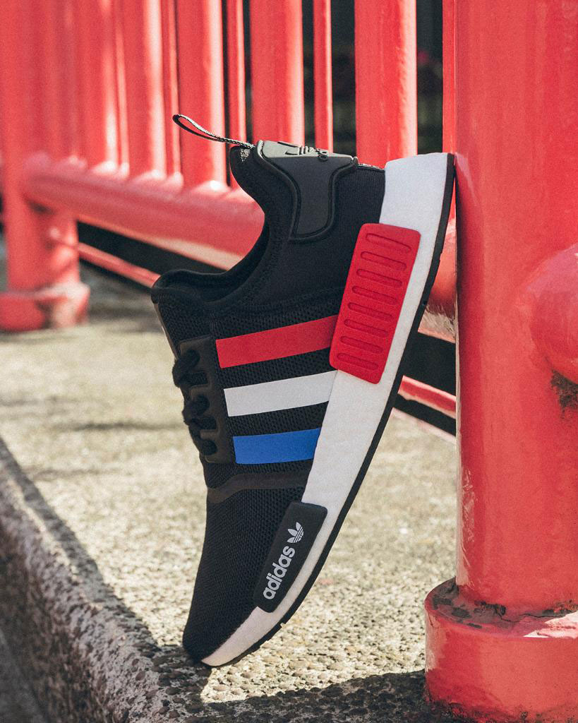 nmd r1 japan red white blue