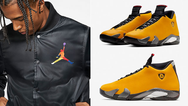 air-jordan-14-yellow-ferrari-jacket