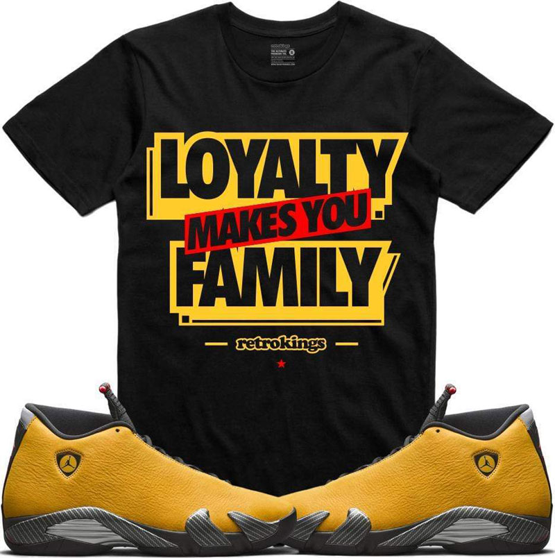 air-jordan-14-yellow-ferrari-sneaker-tee-3