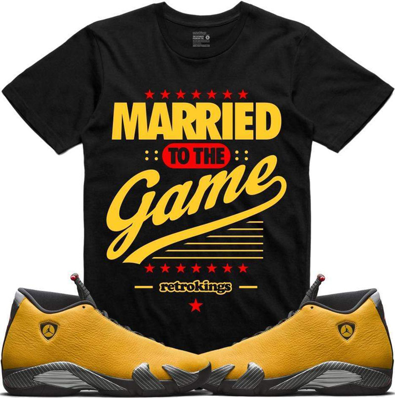 air-jordan-14-yellow-ferrari-sneaker-tee-4