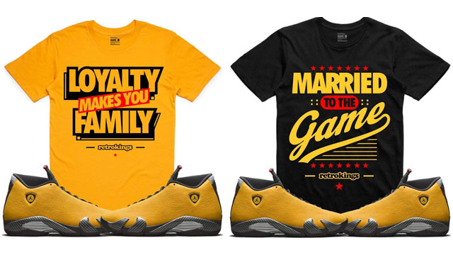 air-jordan-14-yellow-ferrari-sneaker-tees