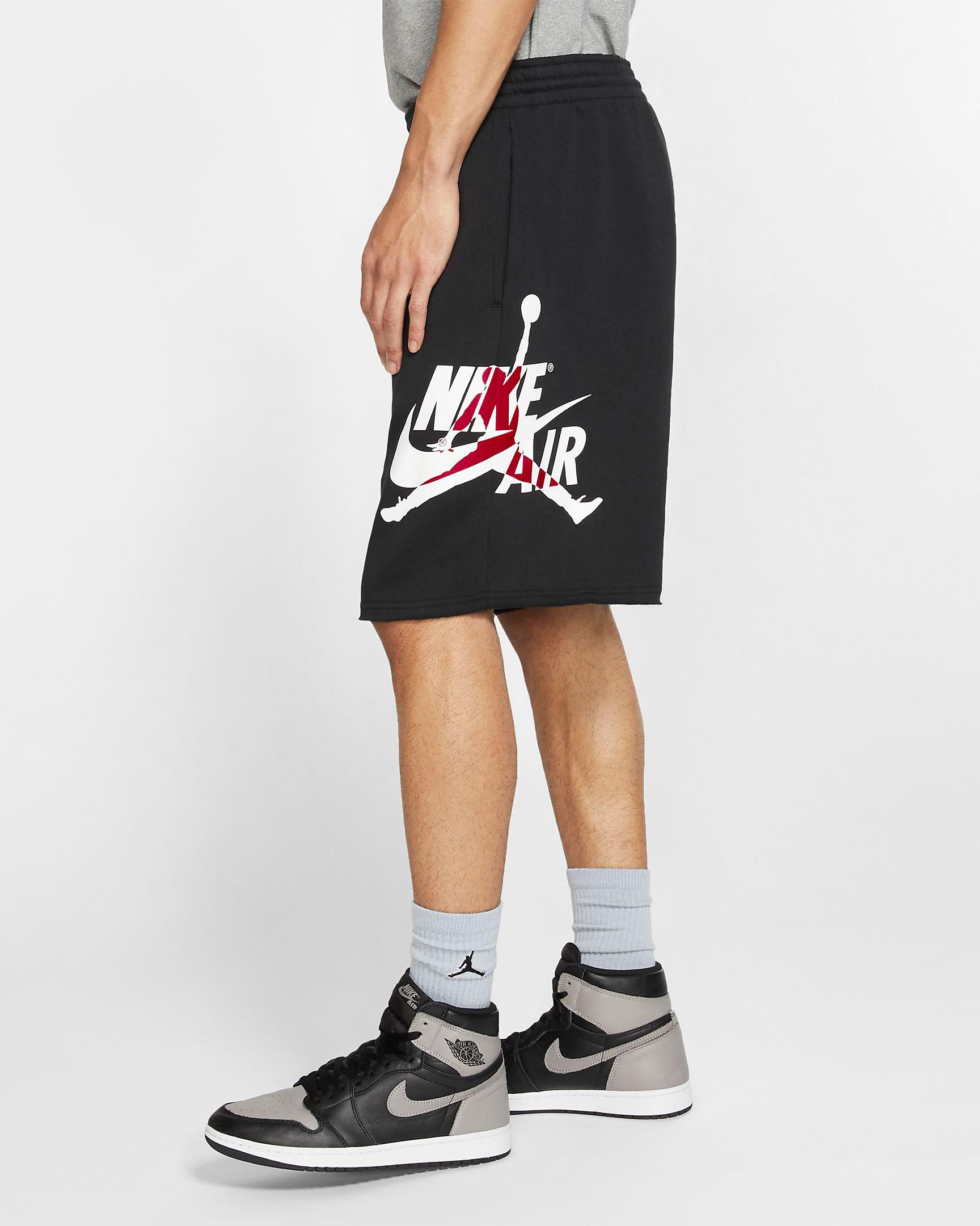 jordan 1 in shorts