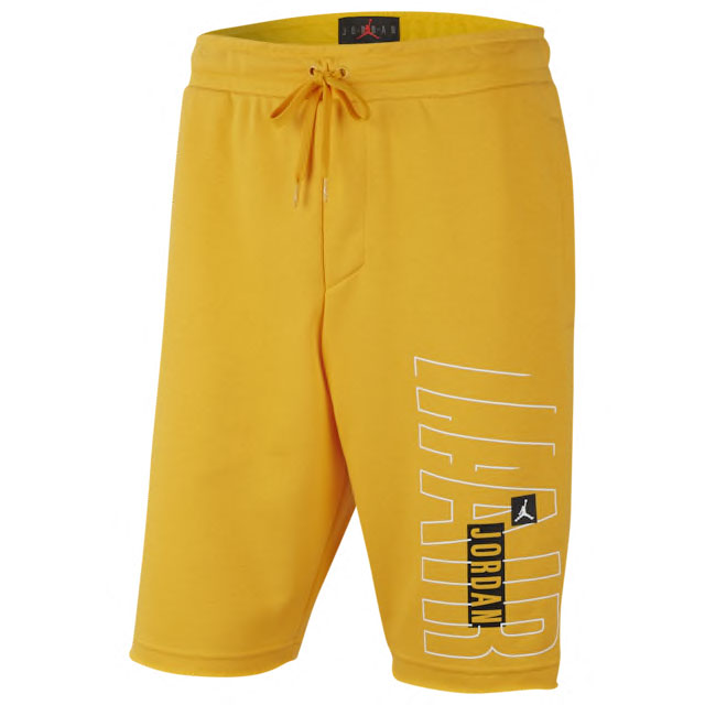 jordan-14-yellow-ferrari-shorts-1