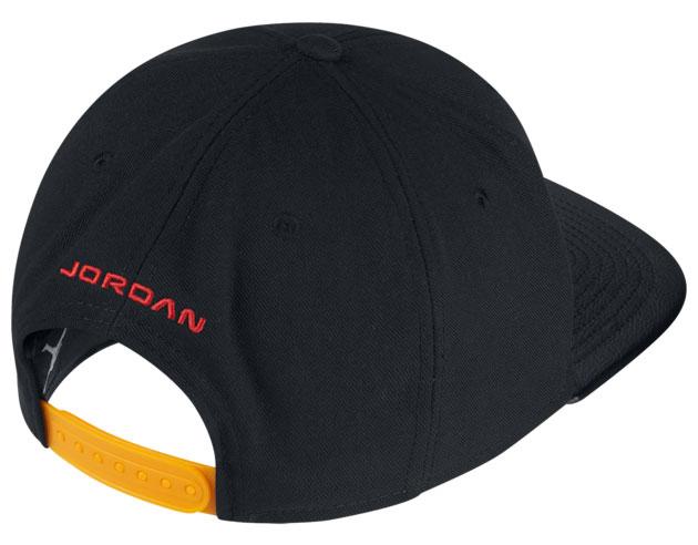 jordan-14-yellow-ferrari-snapback-cap-2