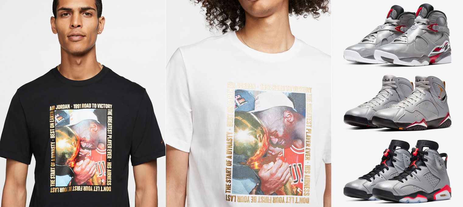 jordan-reflections-of-a-champion-sneaker-match-shirt