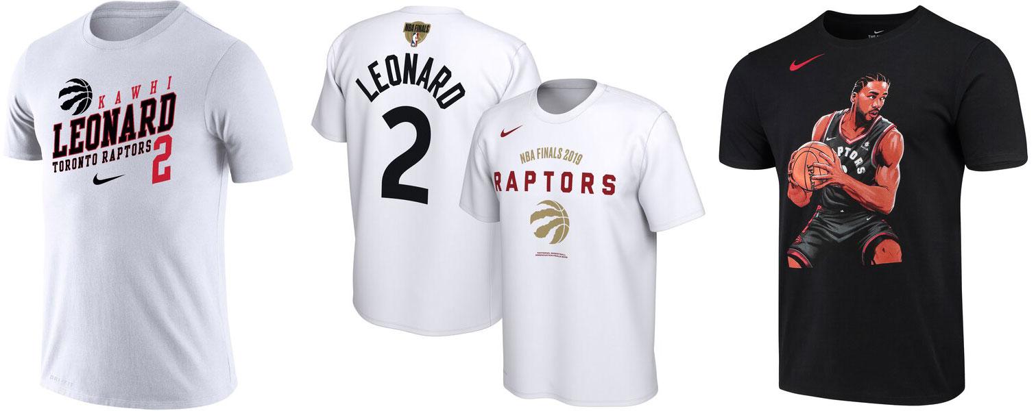 new style 1a087 4aaeb Kawhi Leonard Raptors NBA Finals Shirts | SneakerFits.com