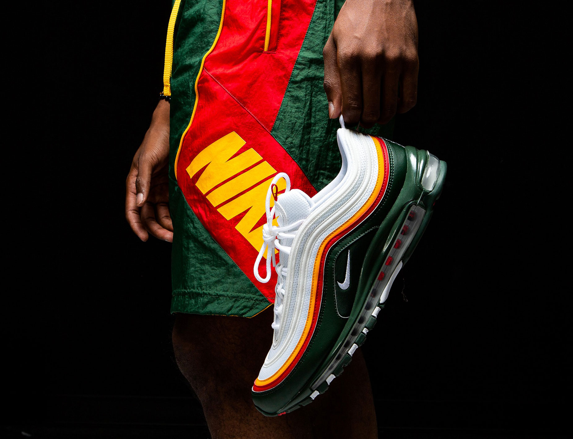 Nike Air Max 97 Evergreen Sonics Shorts Match Sneakerfits Com