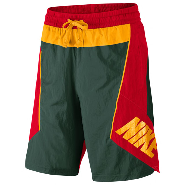 nike-throwback-shorts-green-red-yellow