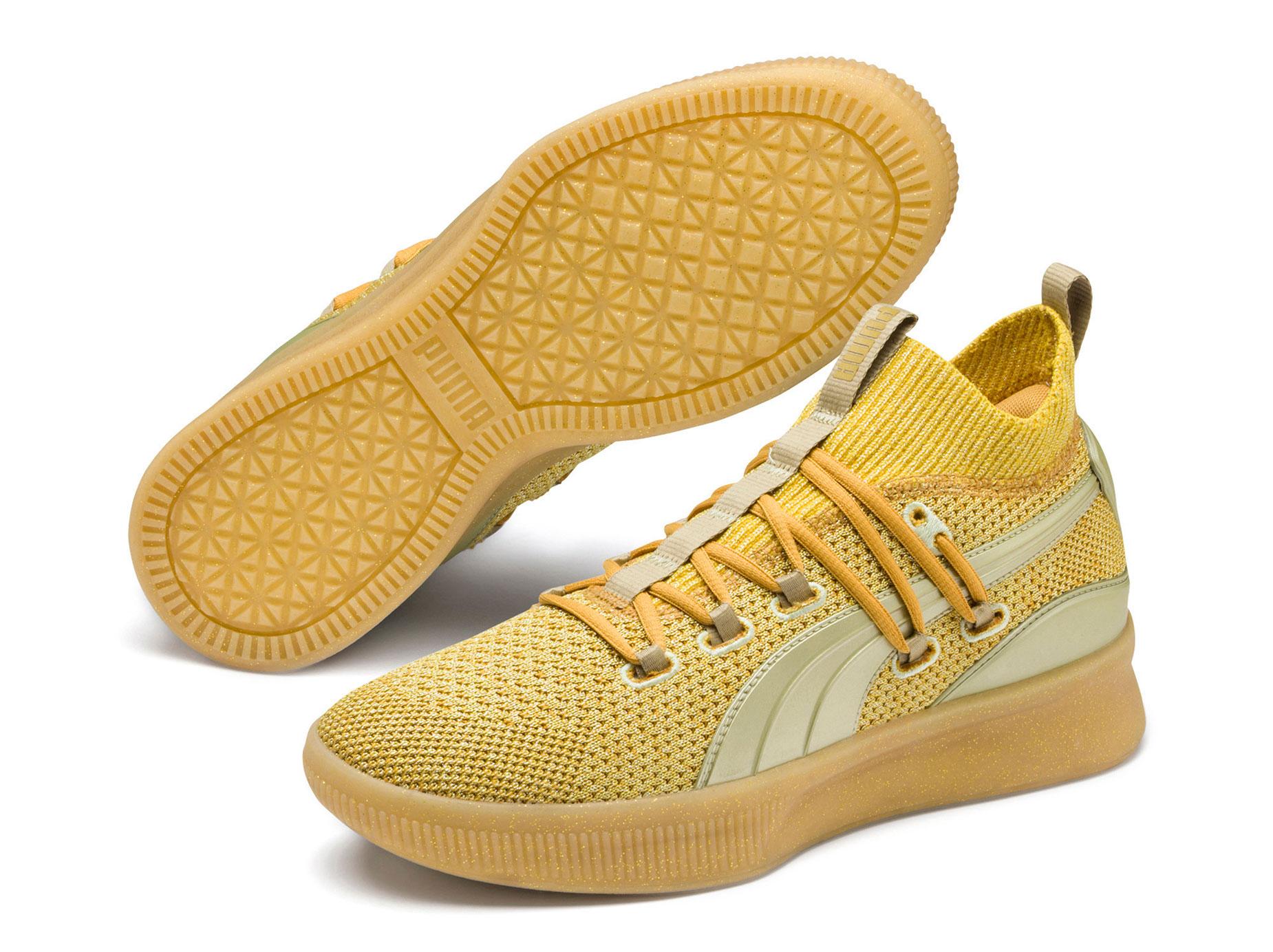timeless design 64f21 dd2e8 Puma Clyde Court Gold Title Run Danny Green | SneakerFits.com