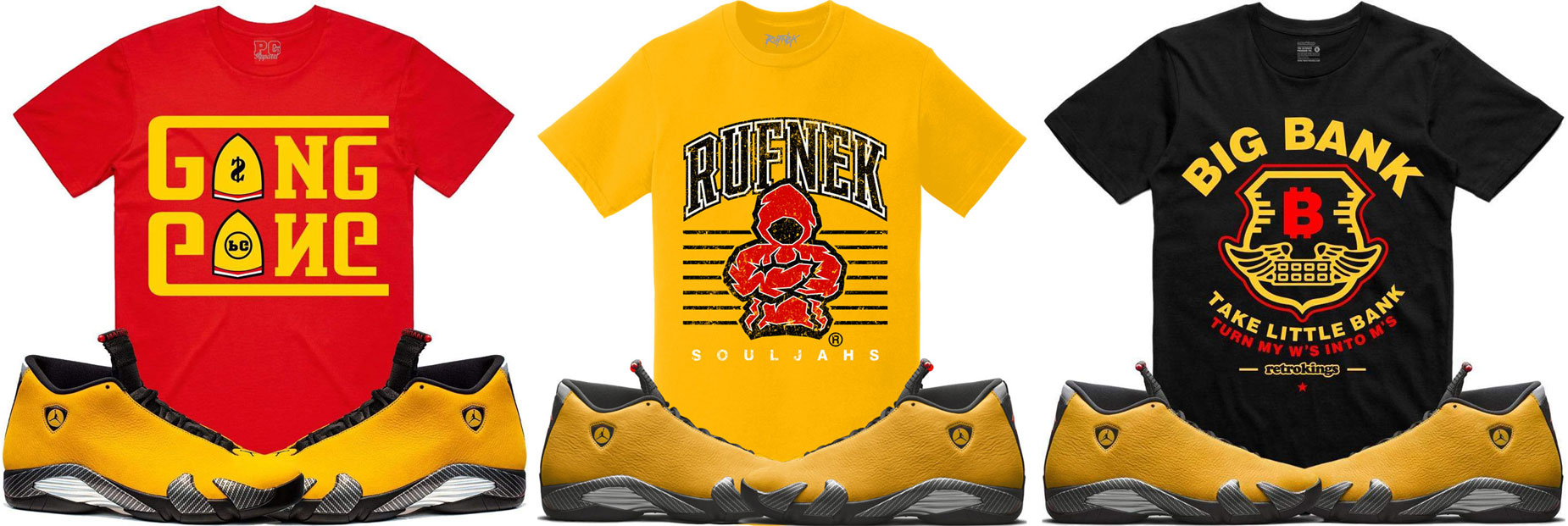 sneaker-tees-match-jordan-14-yellow-ferrari