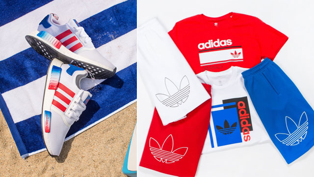 Red, White And Blue Stripes Land On The adidas NMD R1