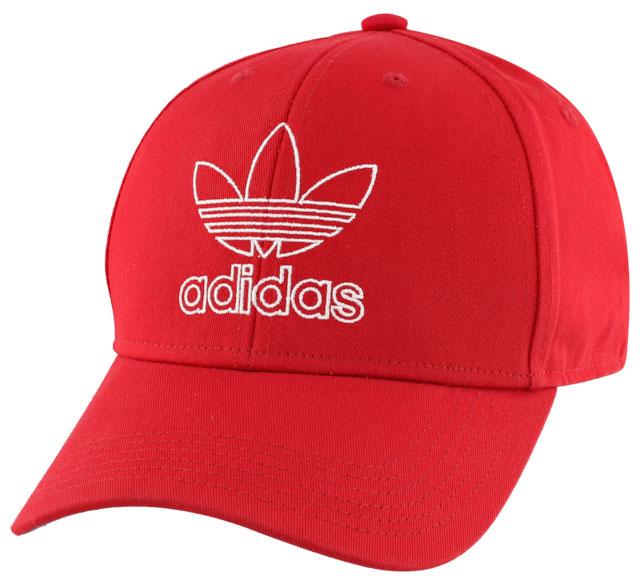 adidas-originals-curved-snapback-cap-red-white