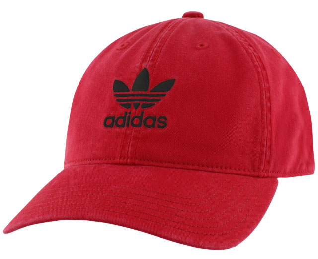 adidas-originals-dad-hat-red-black