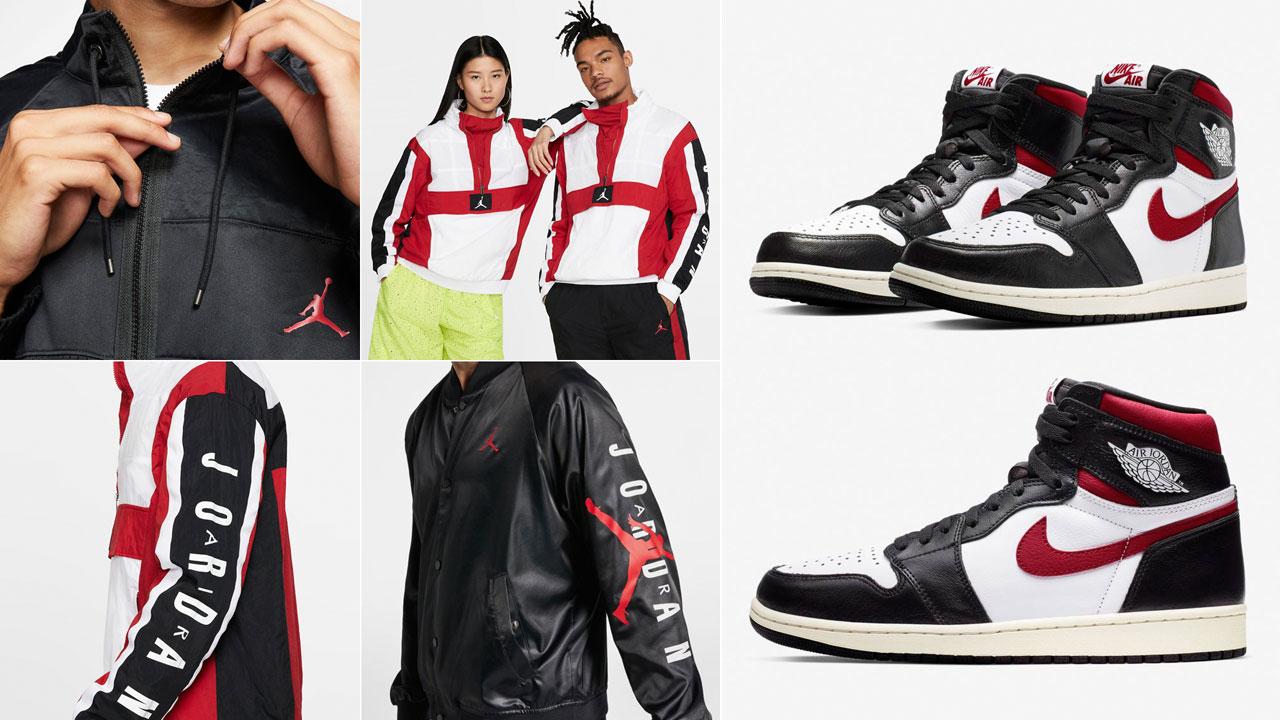 Air Jordan 1 High Gym Red Jackets to