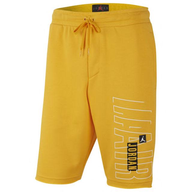 air-jordan-1-yellow-toe-shorts-match-1
