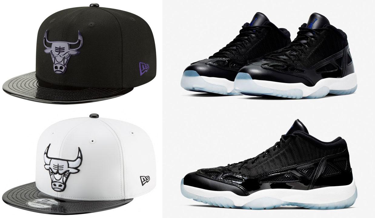 Air Jordan 11 Low Ie Space Jam Bulls Hats Sneakerfits Com