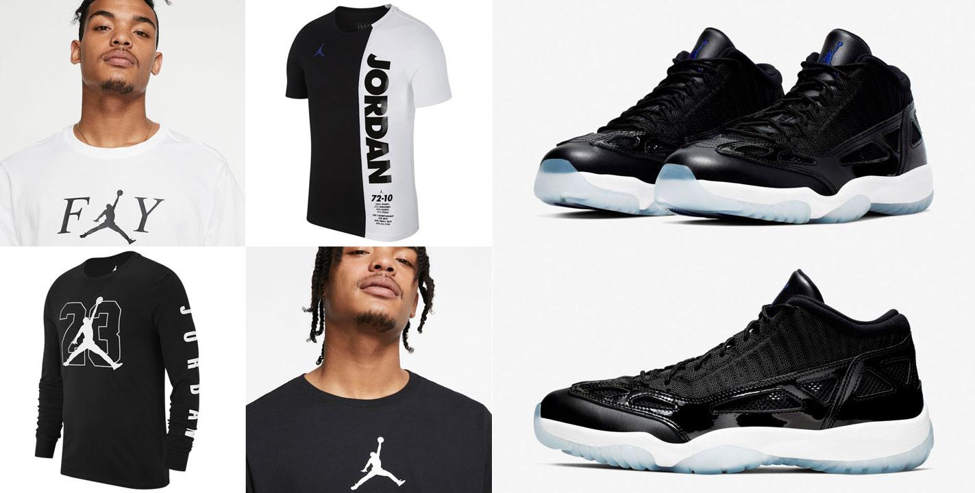 air-jordan-11-low-ie-space-jam-shirts