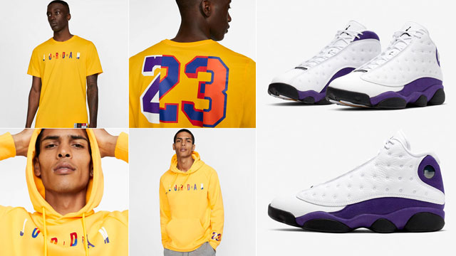 air-jordan-13-lakers-shirts-hoodies-pants-outfits