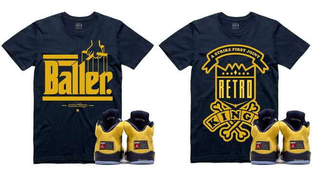 air-jordan-5-michigan-sneaker-shirts