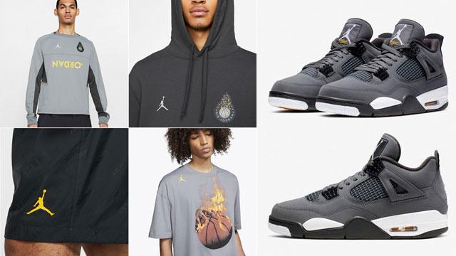 jordan-4-cool-grey-clothing-shoes