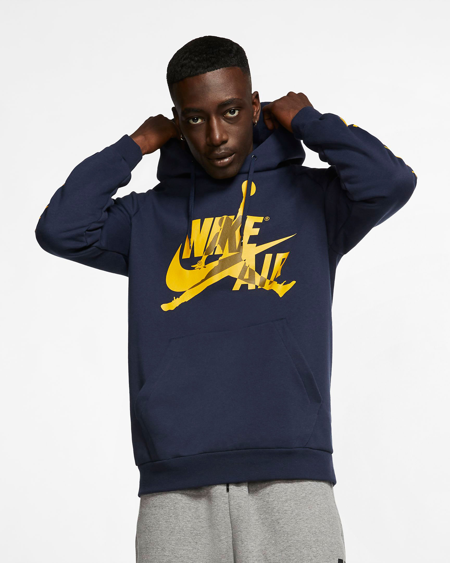 jordan-5-michigan-amarillo-navy-hoodie-match-2
