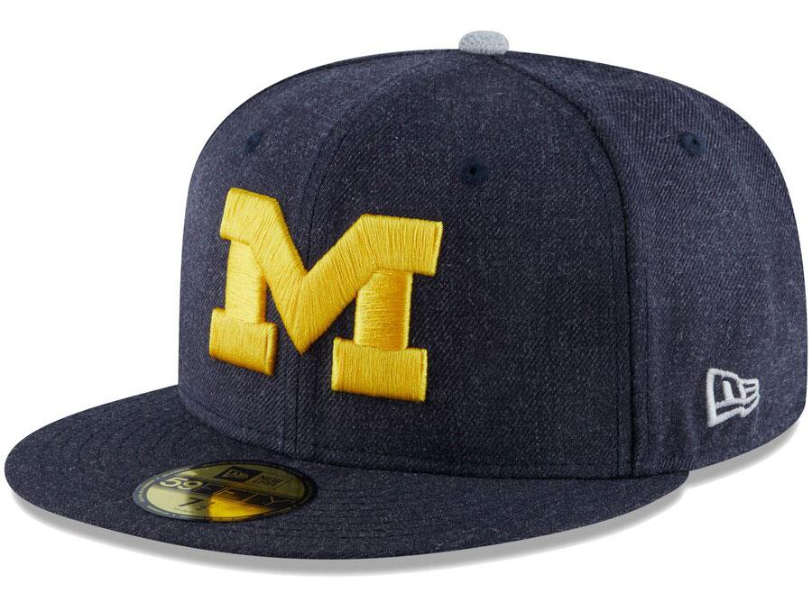 jordan-5-michigan-new-era-fitted-hat-match-2