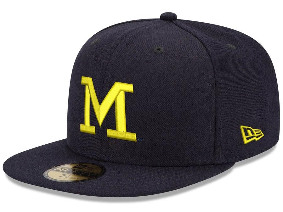 jordan-5-michigan-new-era-fitted-hat-match-4