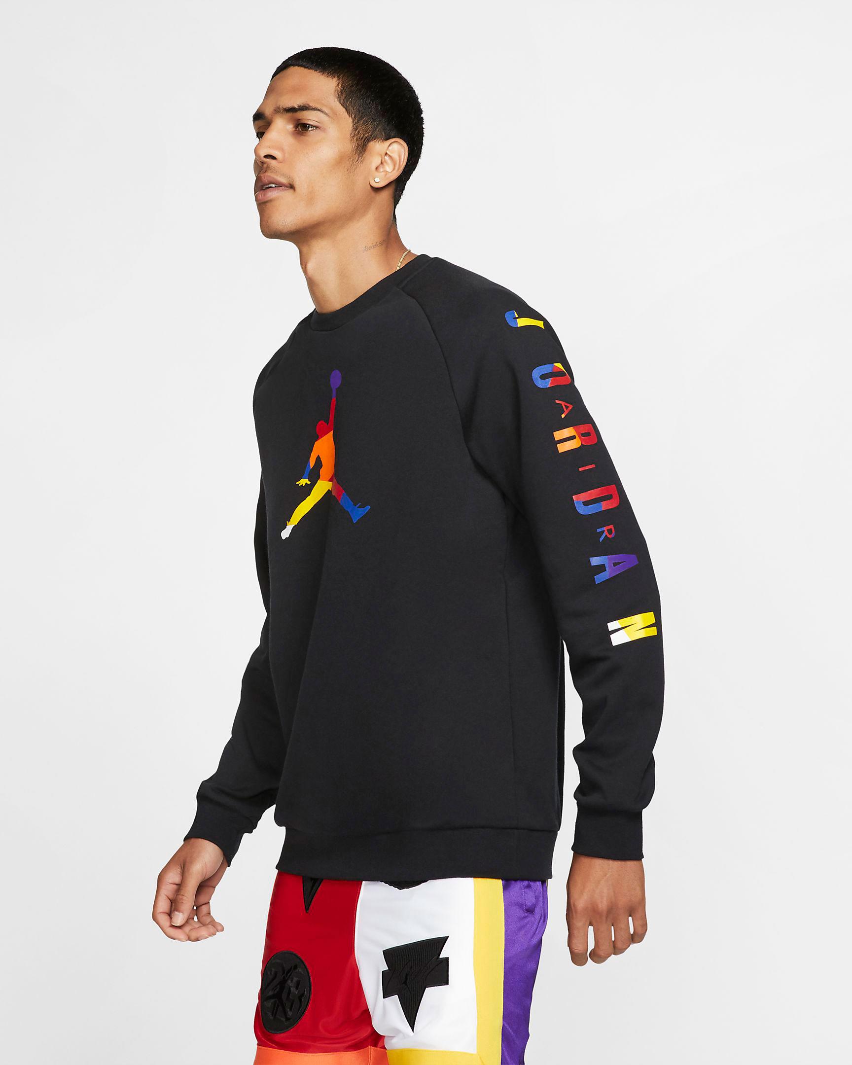 lakers-jordan-13-rivals-sweatshirt-black