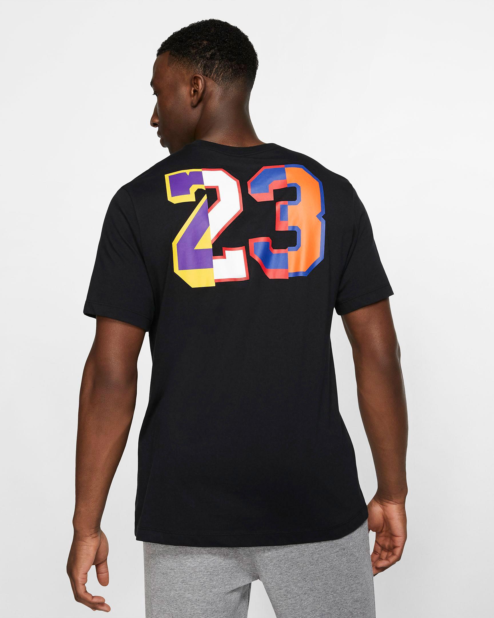 lakers-jordan-13-rivals-tee-shirt-black-2