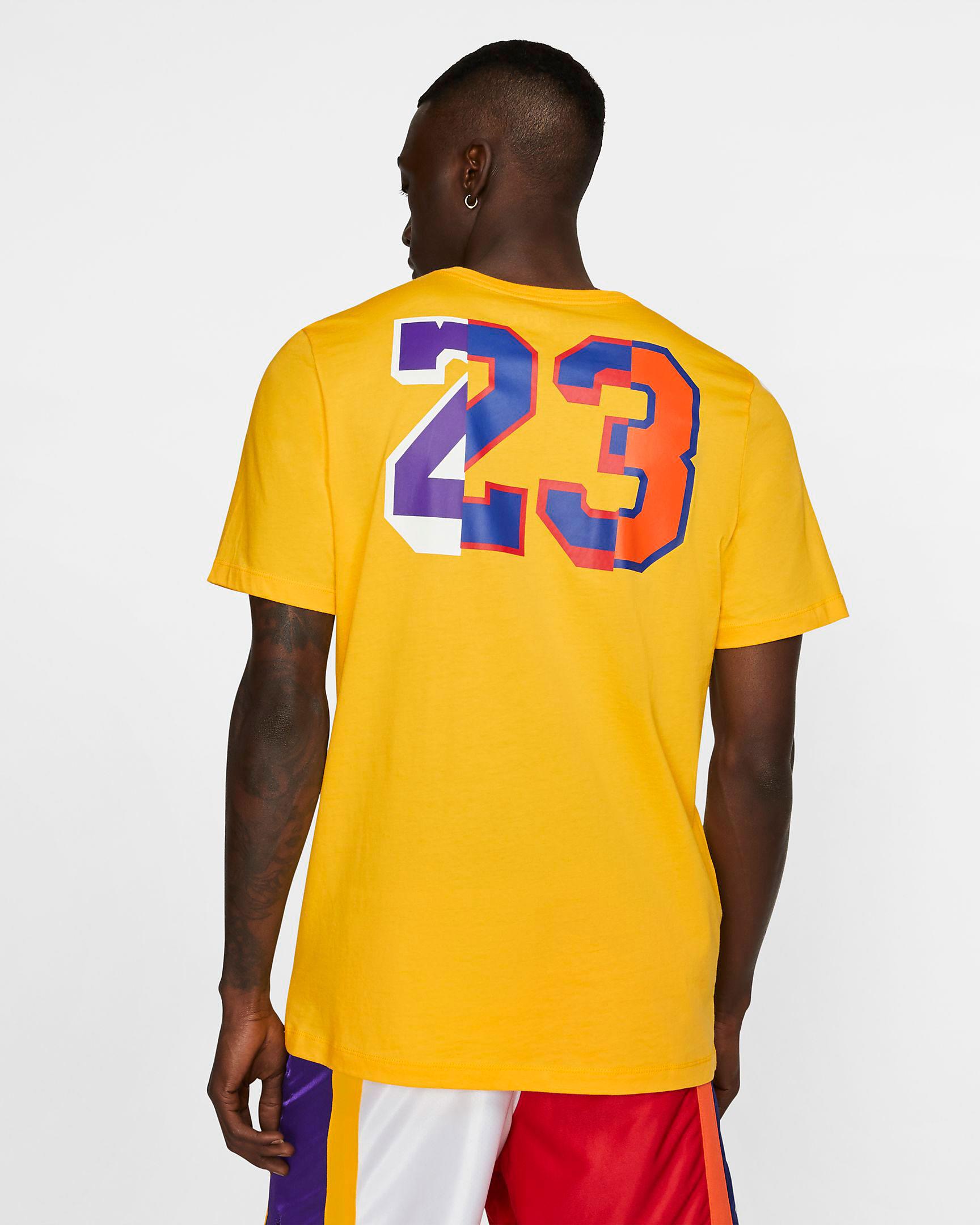lakers-jordan-13-rivals-tee-shirt-yellow-2