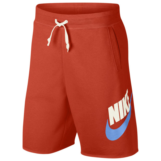 nike-sportswear-alumni-shorts-orange-blue
