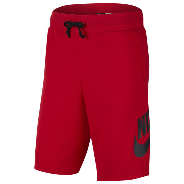 nike-sportswear-alumni-shorts-red-black