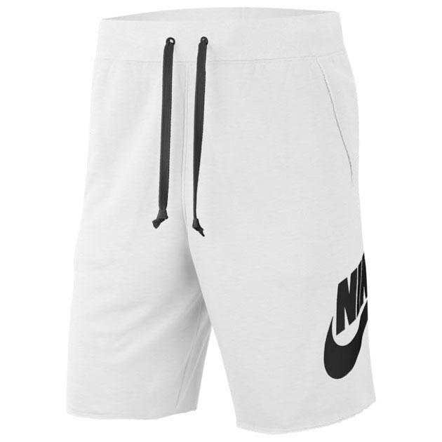 nike-sportswear-alumni-shorts-white-black