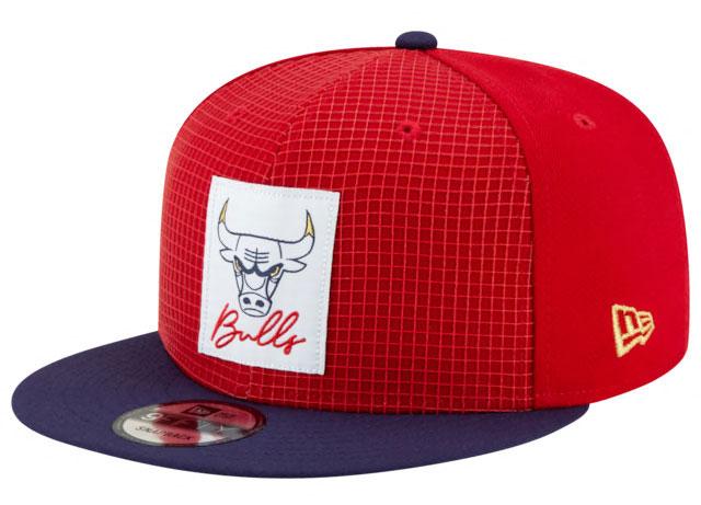 air-jordan-12-fiba-bulls-snapback-hat-1