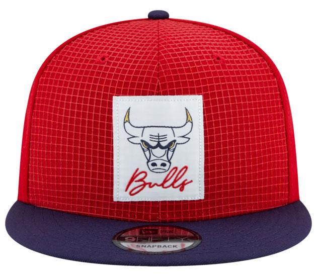 competitive price 8212d 856d6 Air Jordan 12 FIBA Bulls Snapback Hat Match | SneakerFits.com