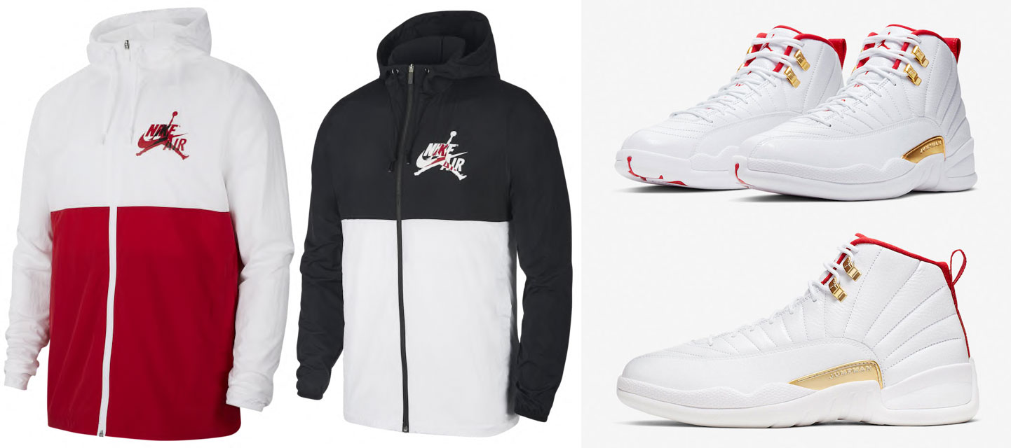 FIBA Jordan 12 Windbreaker Jacket Match