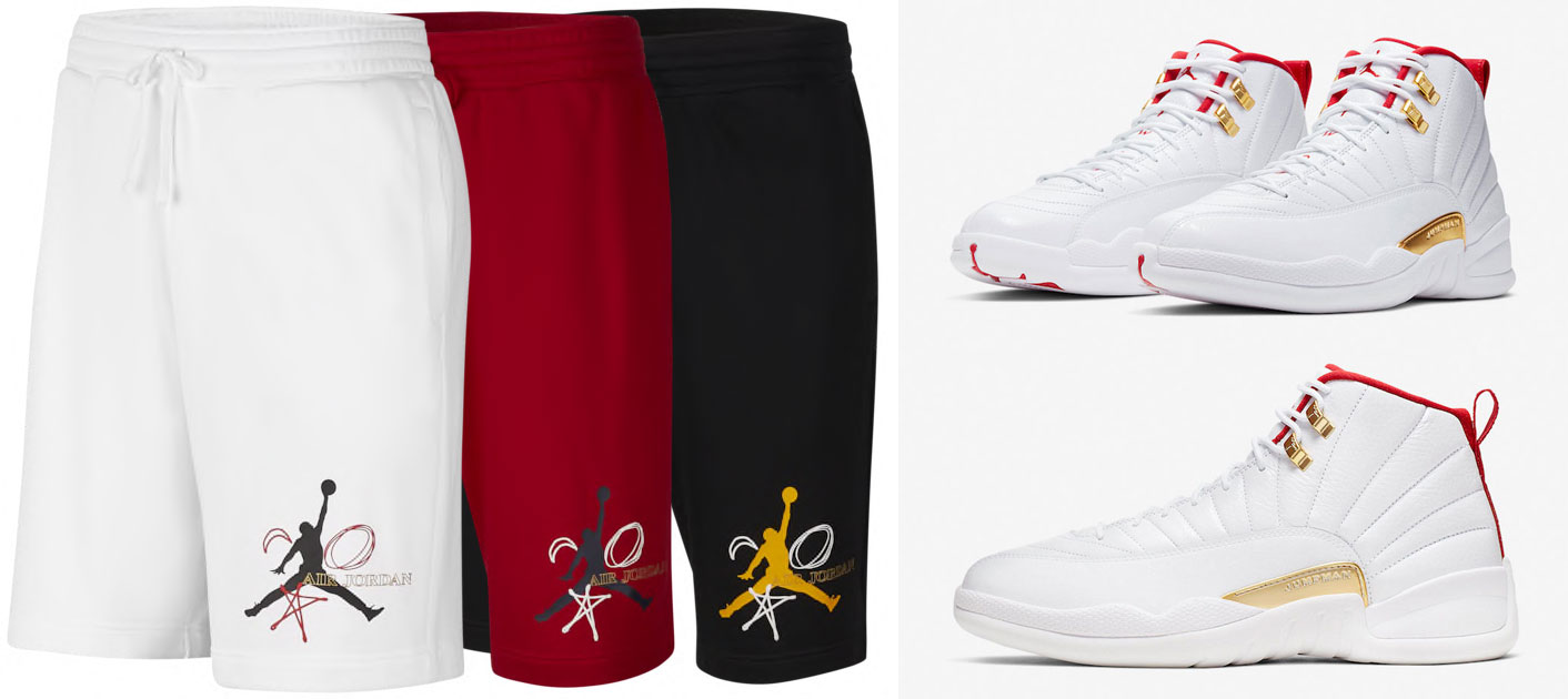 Air Jordan 12 Fiba Shirt Sneakerfits Com
