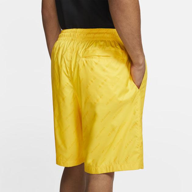 air-jordan-4-cool-grey-2019-yellow-shorts-2