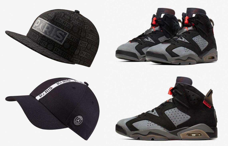 air-jordan-6-psg-paris-saint-germain-hats