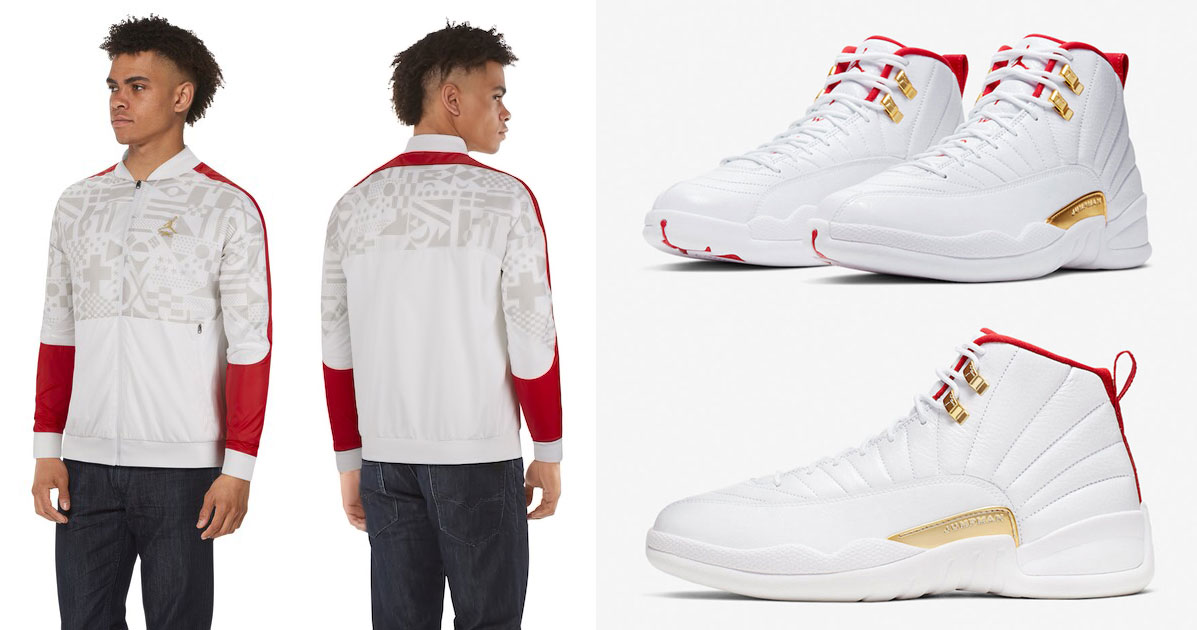 Air Jordan 12 Fiba Jacket Sneakerfits Com