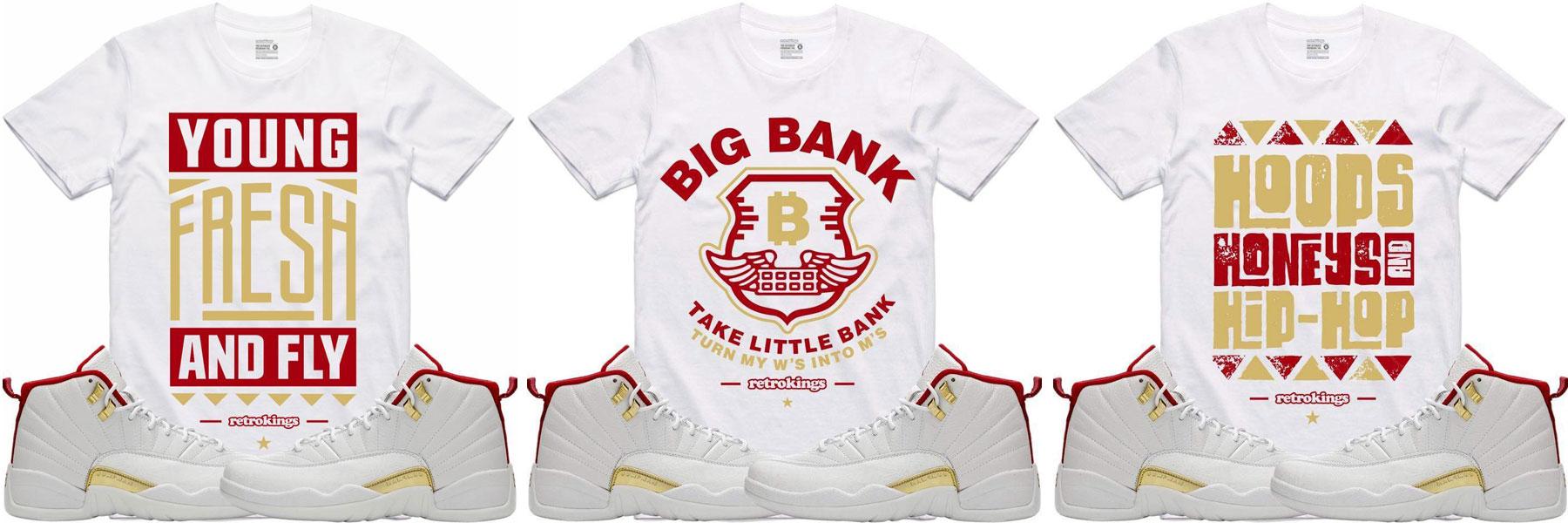 jordan-12-fiba-sneaker-tee-shirts