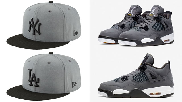 jordan-4-cool-grey-mlb-fitted-caps