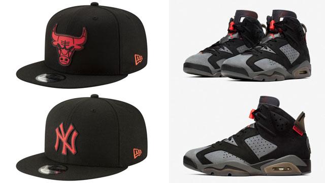 jordan-6-psg-matching-hats