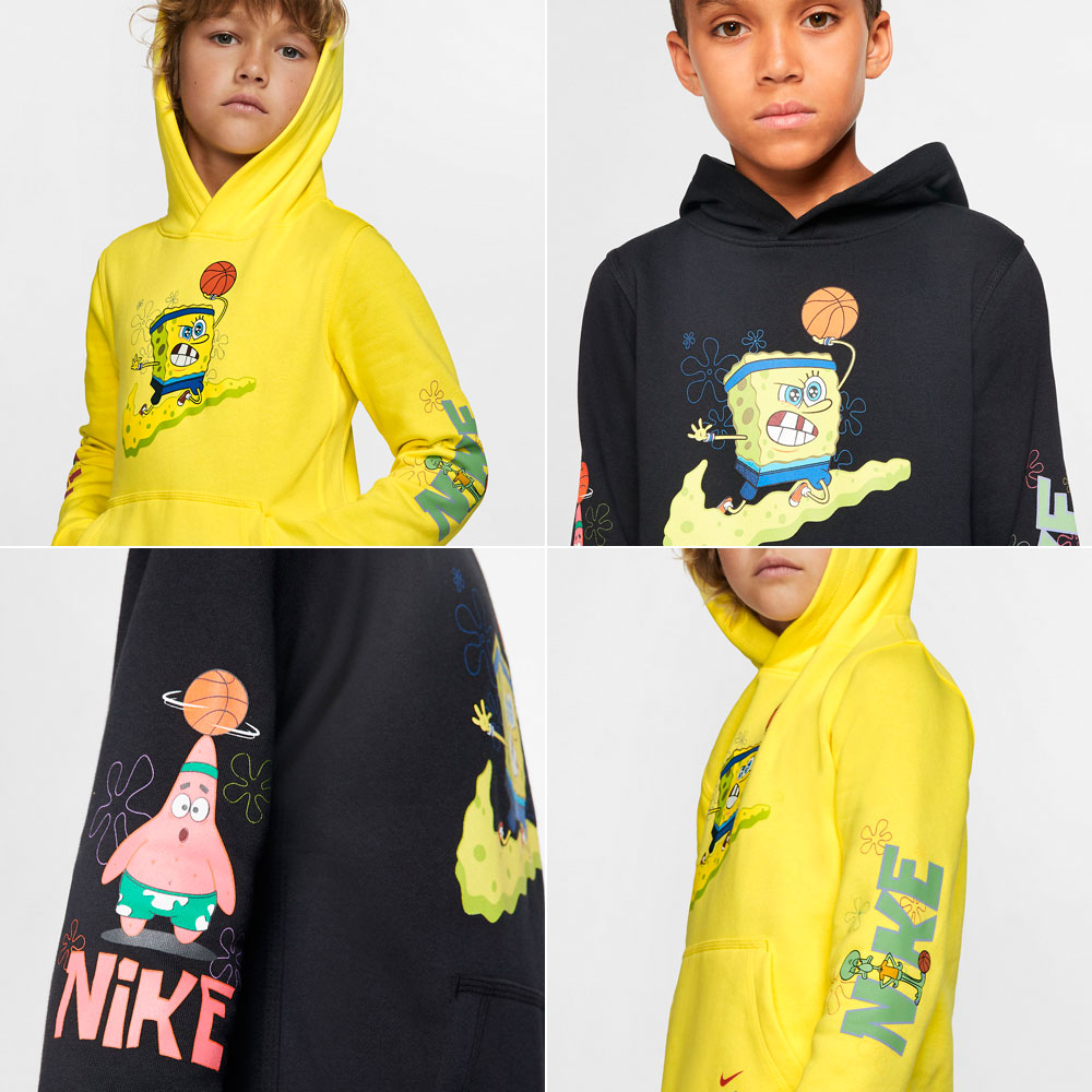 kids-kyrie-nike-spongebob-hoodies