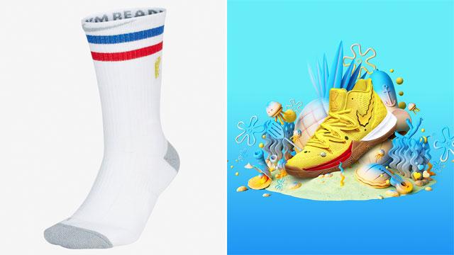 kyrie-5-spongebob-nike-socks