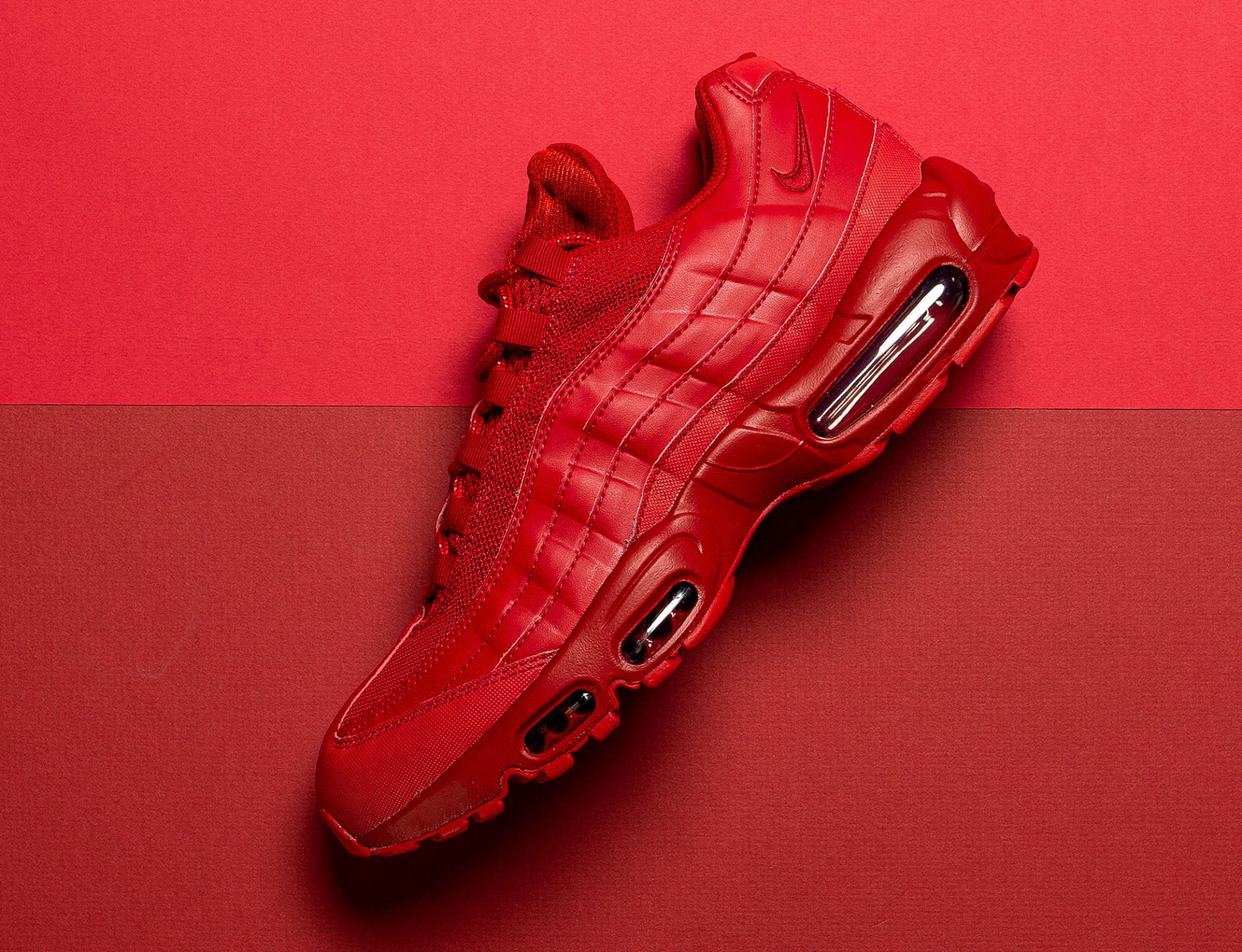 nike all red air max