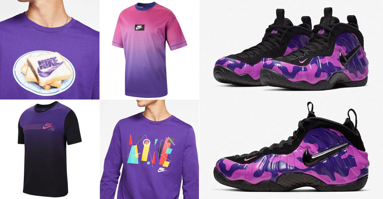 nike-foamposite-purple-camo-shirts