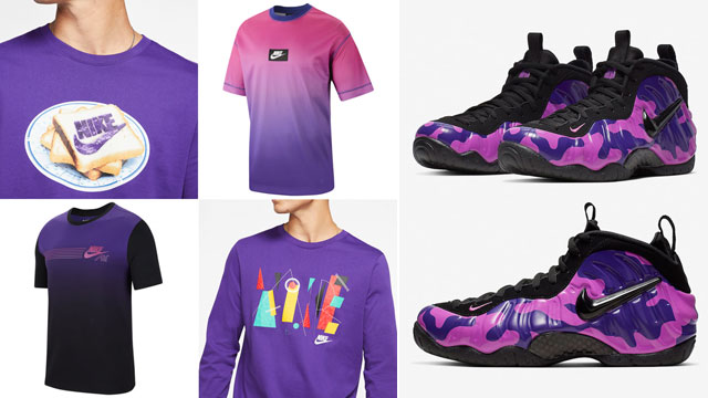 nike-foamposite-purple-camo-tees